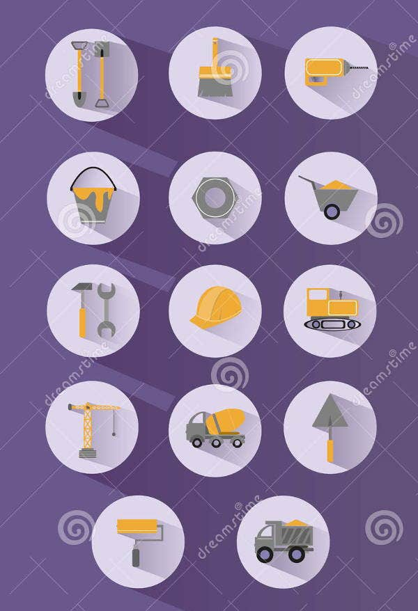 vector-rounded-construction-icons