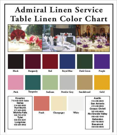 Table Chart Template - 7+ Free Word, Pdf Documents Download | Free