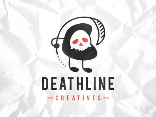 Death Skull Logo