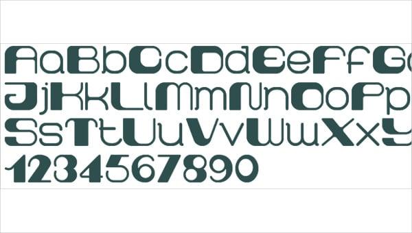 Block Techno Font