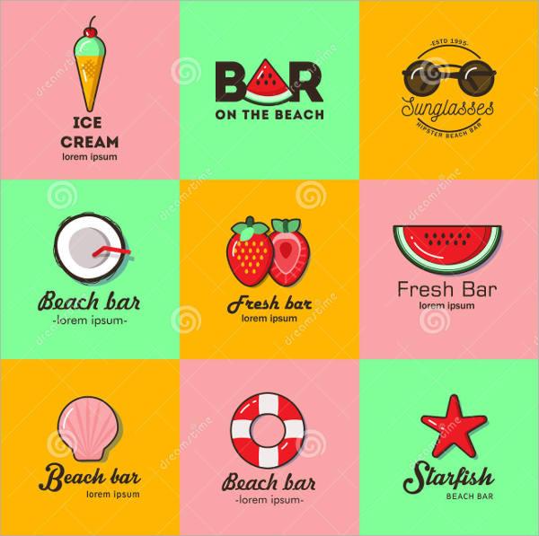 beach bar logos