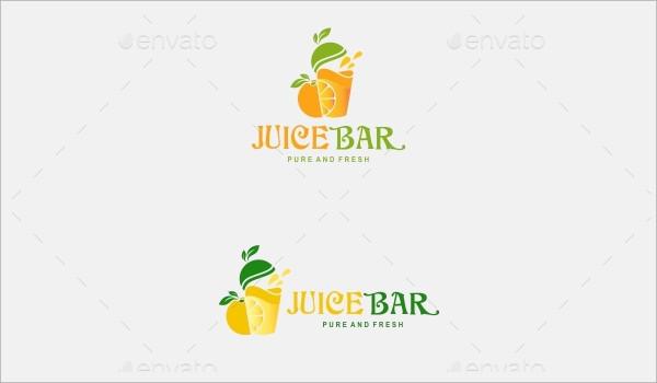 juice bar logos