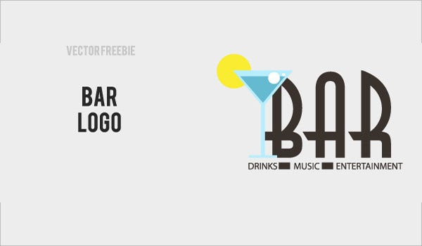 vector bar logos