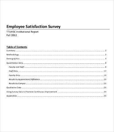 school employee satisfaction survey template