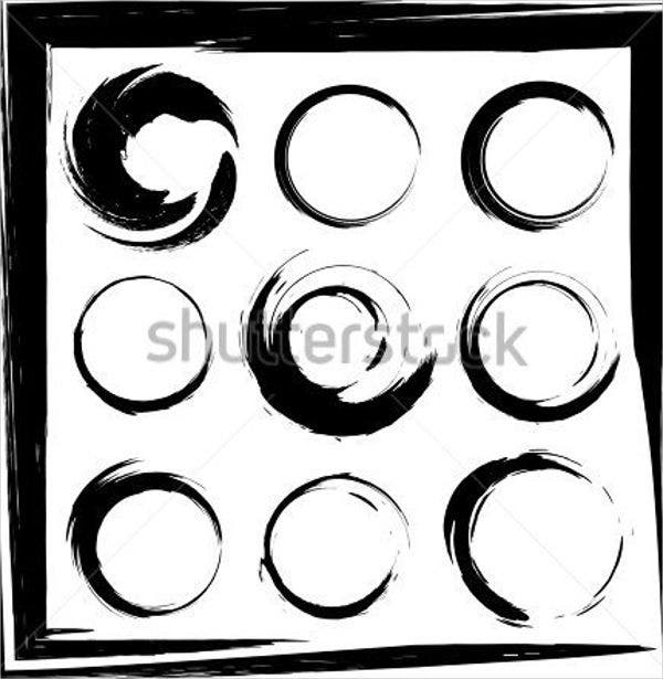 of vector grunge circle - photo #38