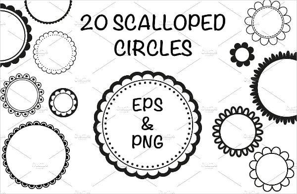 circle-vector-frames