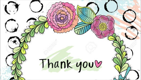 floral thank you card2