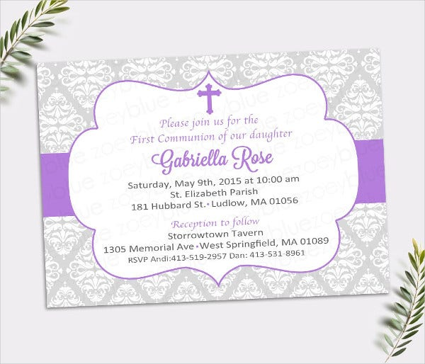 Confirmation Invitation Template 8 Free PSD Vector AI EPS – Confirmation Party Invitations
