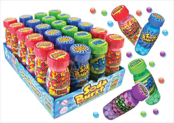 Plastic Candies Packaging