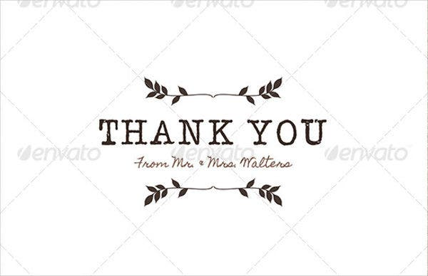 rustic thank you card template1