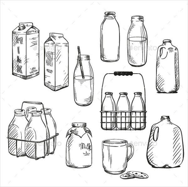 Milk Product Packaging