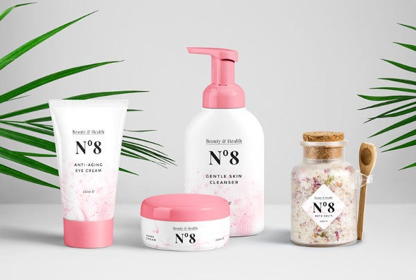 Cosmetic Packaging PSD Mockup