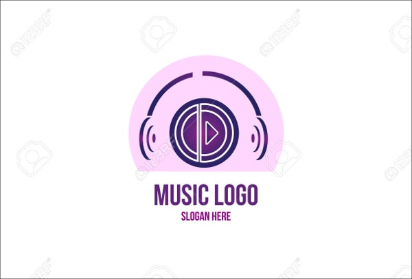 music production company logo
