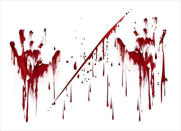 blood splash vector