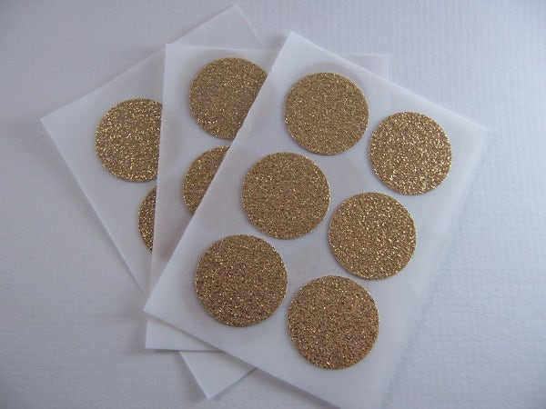 gold-round-stickers