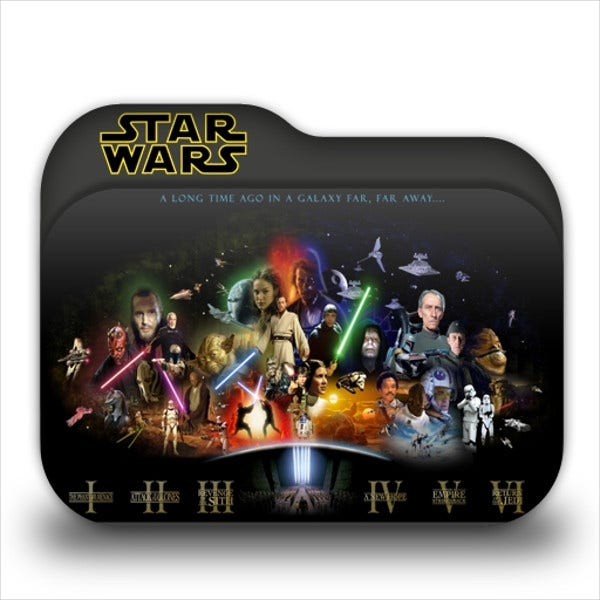 Star Wars Folder Icons