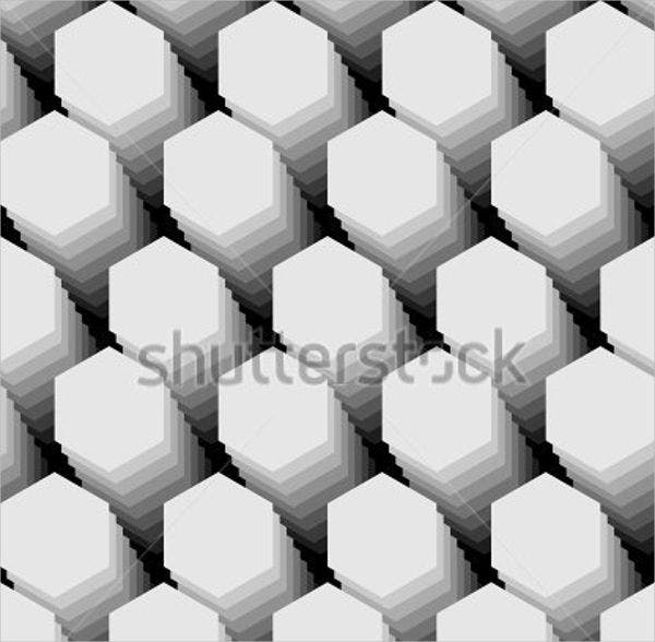 8 hexagon patterns free psd ai vector eps format download