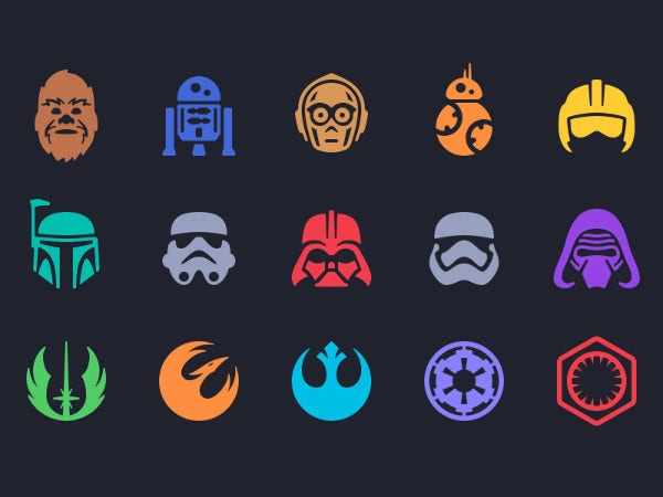 Star Wars App Icons