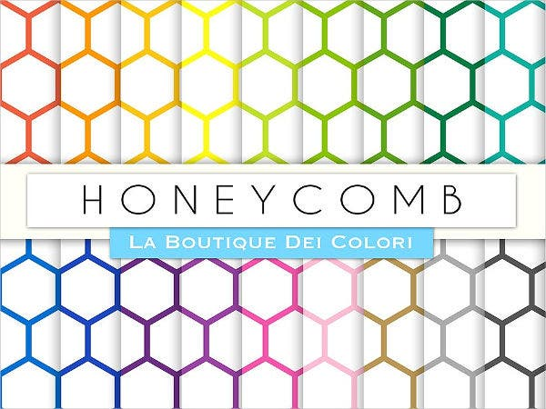 honeycomb-hexagon-pattern
