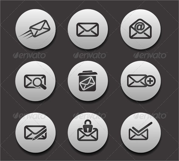 social-email-icons
