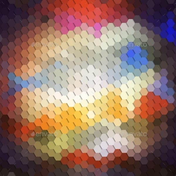 colorful-hexagon-pattern