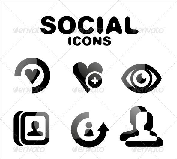 glossy-social-icons
