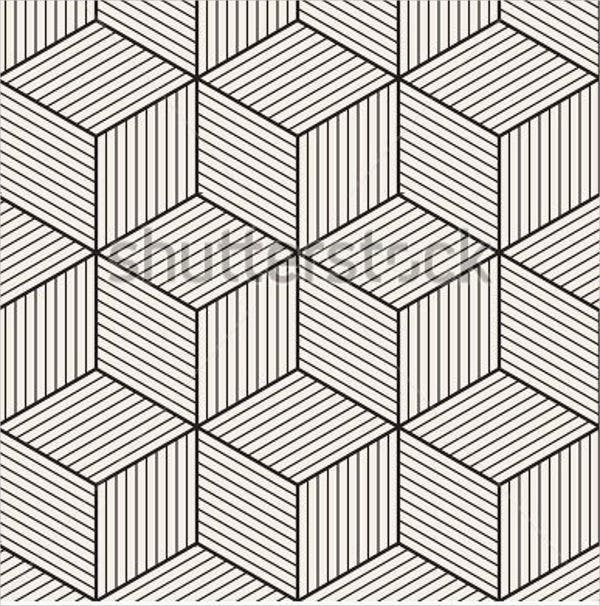 monochrome-hexagon-pattern