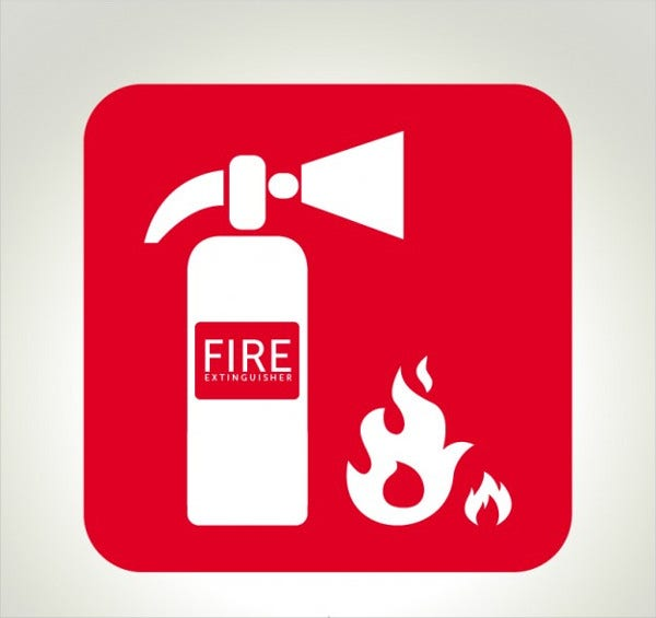 Fire Extinguisher Logo