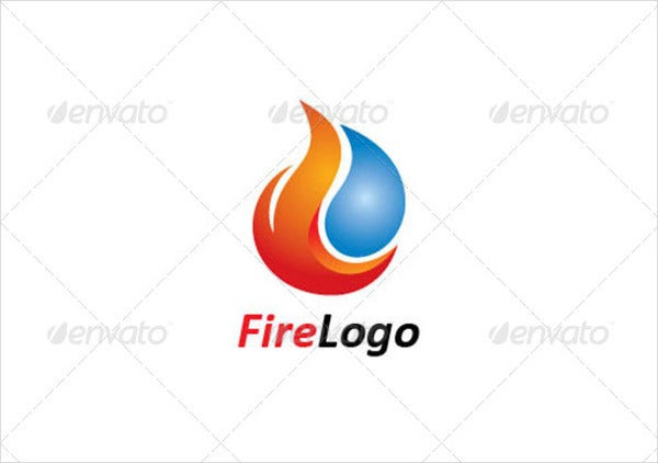 Fire Logo for Company
