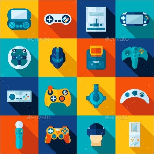 video game icons2