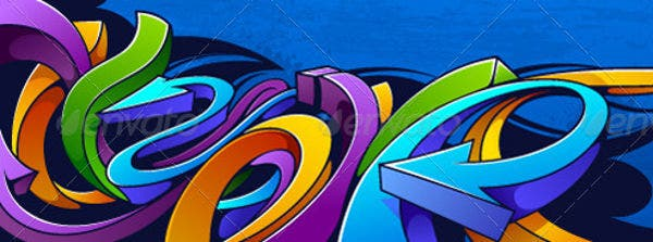 graffiti-vector-background