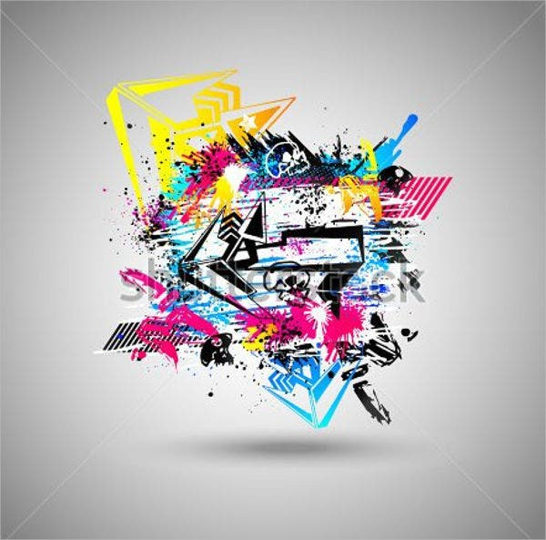 3d-graffiti-vector