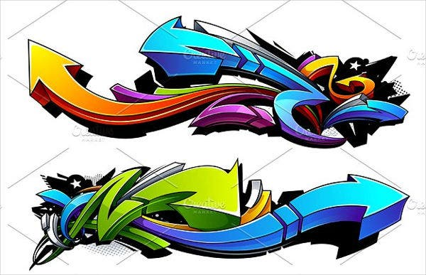 graffiti-arrows-vector