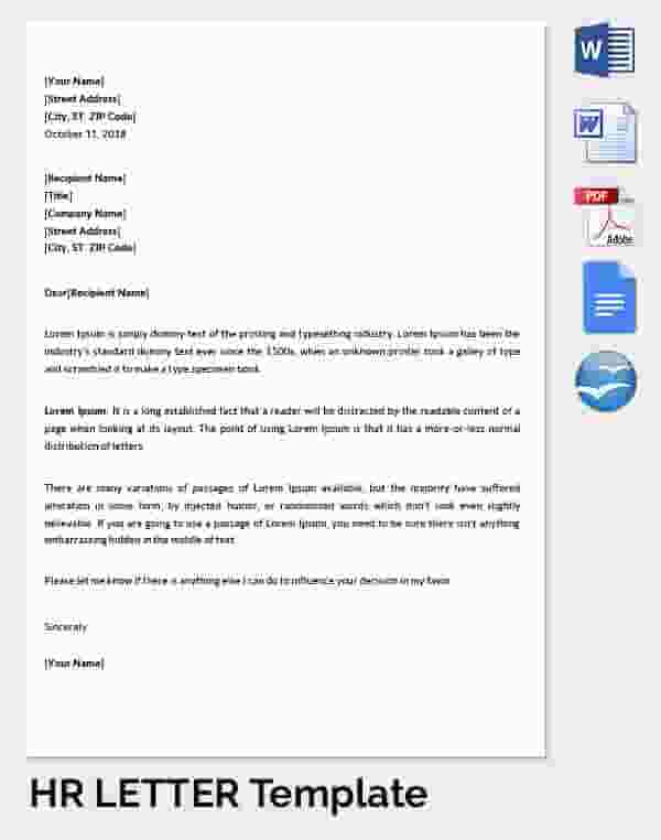 29 Hr Warning Letters Free Sample Example Format