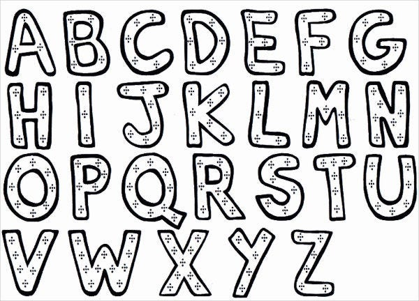 9+ Alphabet Coloring Pages