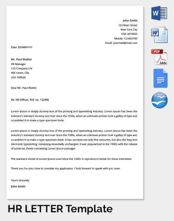 29 hr warning letters free sample example format for Hr memo template