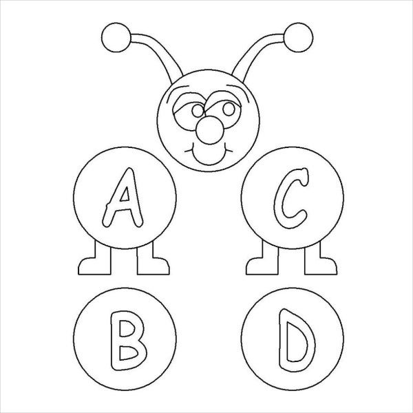 9 Alphabet Coloring Pages Free Psd Jpg Png Jif Format Download Free Premium Templates