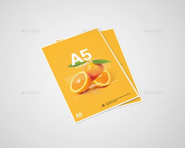 A5Flyer Mockup
