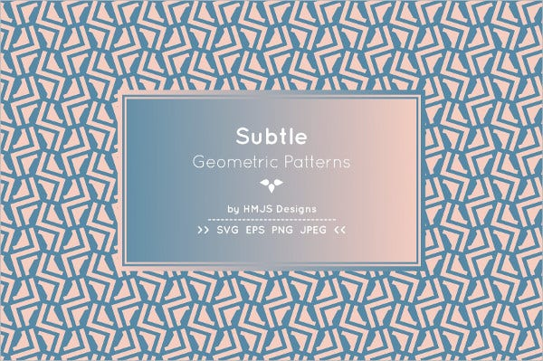 Geometric Subtle Pattern