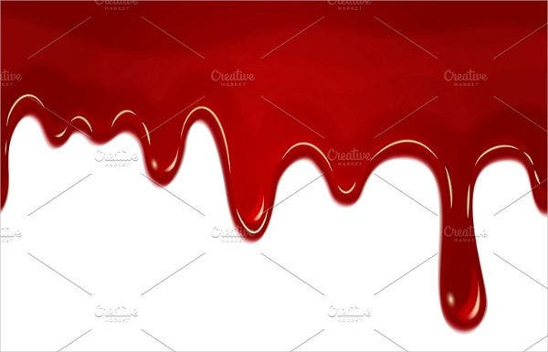 blood dripping vector