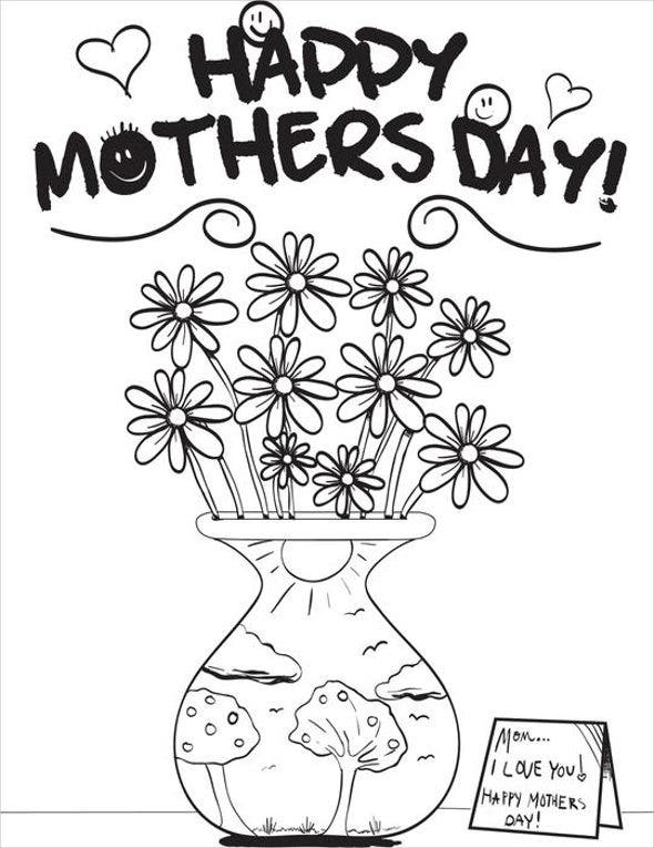mothers-day-bouquet-coloring-page