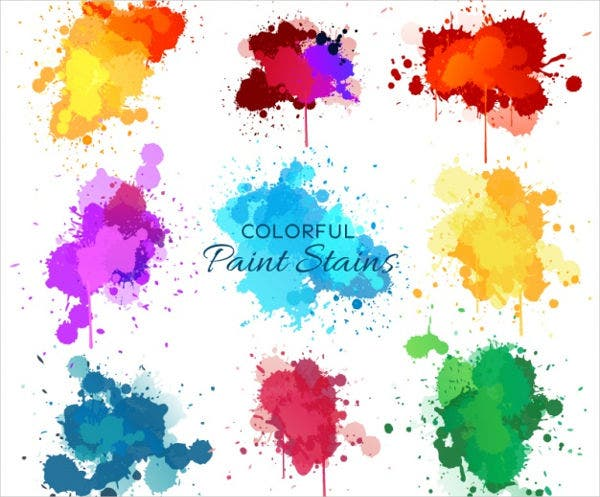 Watercolor Paint Vector