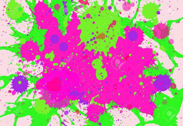 Vibrant Paint Vector