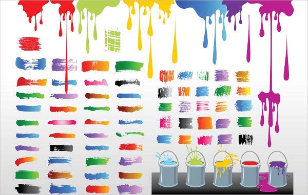 Graffiti Paint Vector