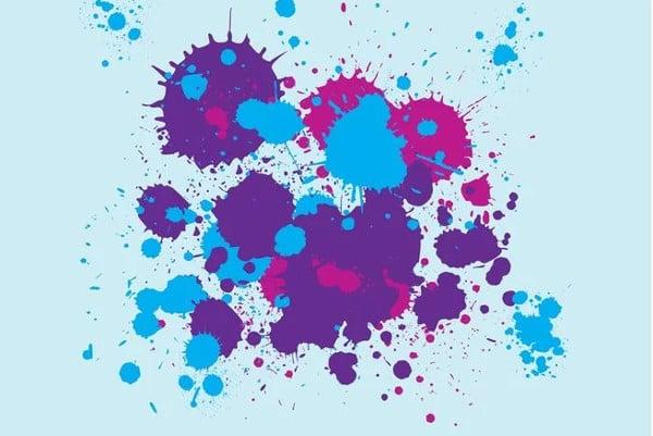 Circle Paint Vector