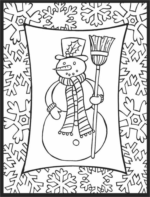 Fun Holiday Coloring Page