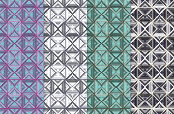 Geometric Line Pattern