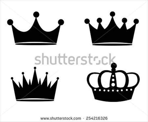 black and white queen logo