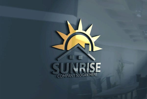 Sun Logo for Company
