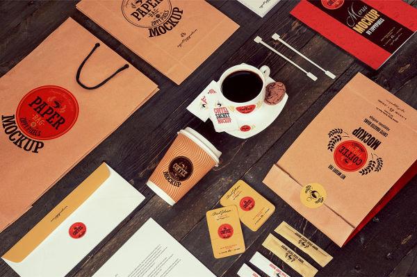 Coffee Packaging Mockups